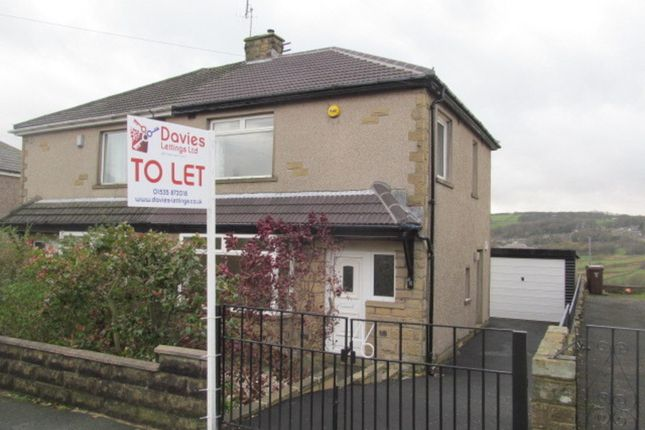 Thumbnail Semi-detached house to rent in Lawcliffe Crescent, Haworth, Keighley