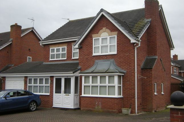 Thumbnail Detached house to rent in Keble Grove, Walsall