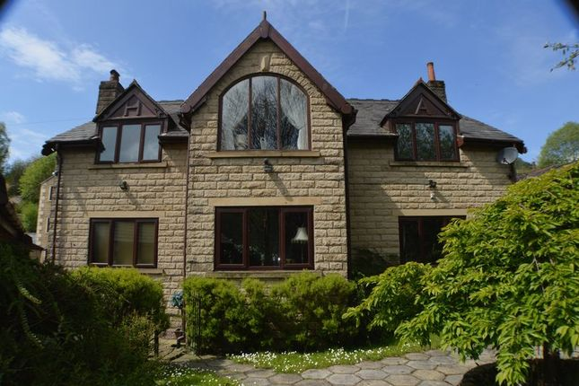 Thumbnail Detached house for sale in Heron Lane, Mossley, Ashton-Under-Lyne