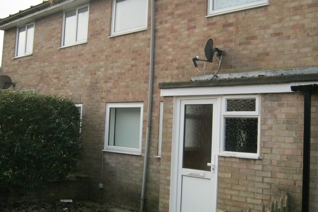 Thumbnail Terraced house to rent in Millfield Close, Chichester