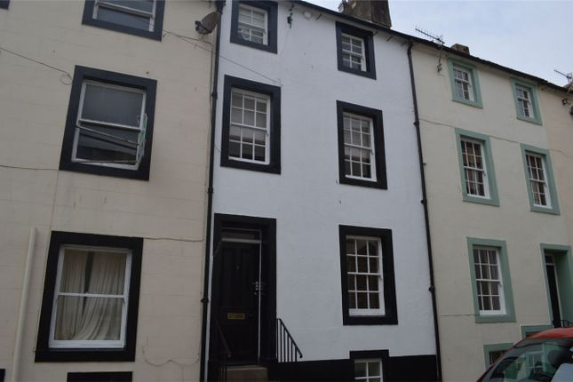 Thumbnail Terraced house to rent in Cross Street, Whitehaven, Cumbria