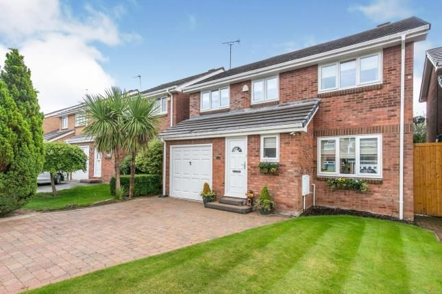 Thumbnail Detached house for sale in Lombardy Avenue, Greasby, Wirral, Merseyside