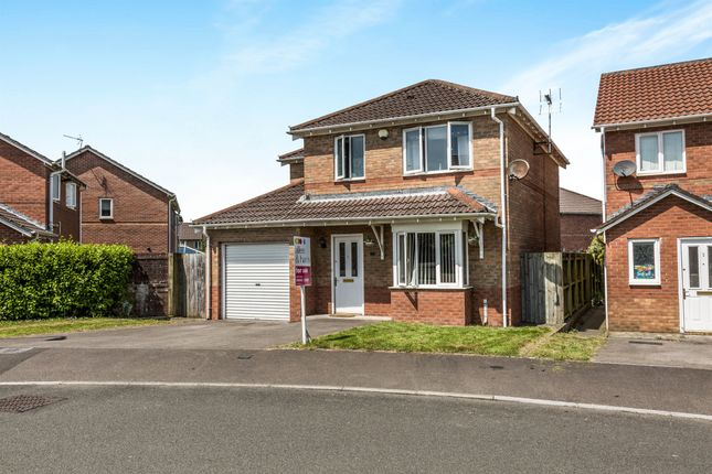 Thumbnail Detached house for sale in Terry's Way, Llanharan, Pontyclun