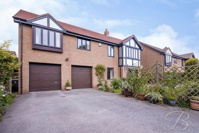 Thumbnail Detached bungalow for sale in The Pinfold, Glapwell, Chesterfield
