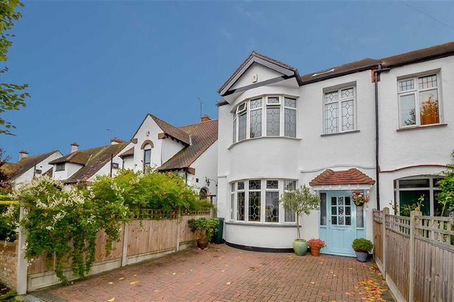 Thumbnail End terrace house for sale in Herschell Road, Leigh-On-Sea, Essex