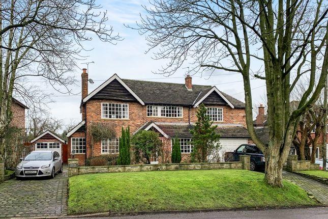 Thumbnail Detached house for sale in Broadwalk, Prestbury, Macclesfield