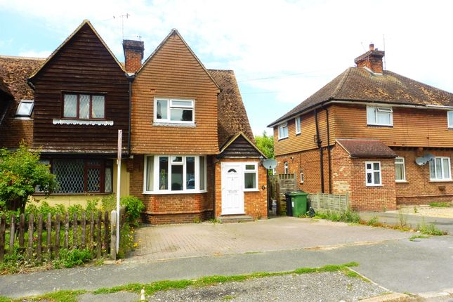 Thumbnail Semi Detached House For Sale In Medway Avenue Yalding Maidstone