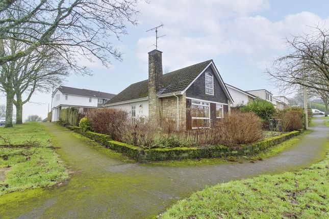 Thumbnail Detached bungalow for sale in Highfield Close, Caerleon, Newport