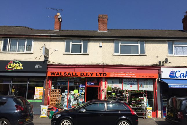 Thumbnail Flat to rent in West Bromwich Street, Walsall, West Midlands