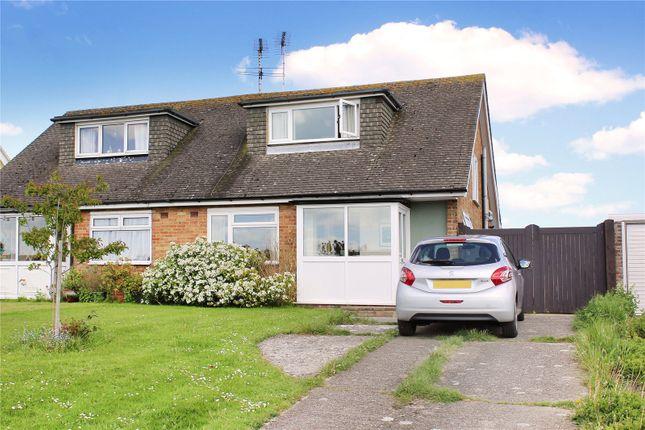 Thumbnail Semi-detached house for sale in Highdown Drive, Wick, Littlehampton