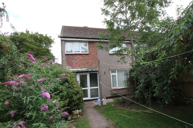 Thumbnail End terrace house for sale in Monnow Walk, Bettws, Newport