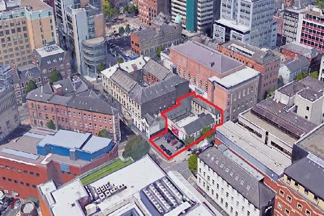 Thumbnail Land for sale in 27-37 Linenhall Street, Belfast, County Antrim