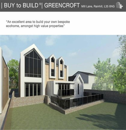 Thumbnail Detached house for sale in Mill Lane, Prescot, Merseyside