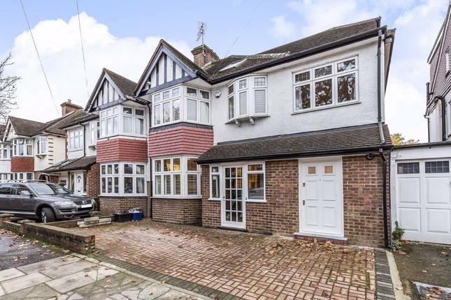 Thumbnail Semi-detached house to rent in Erncroft Way, Twickenham