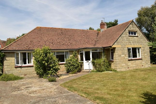 Thumbnail Detached bungalow for sale in Swains Road, Bembridge, Isle Of Wight