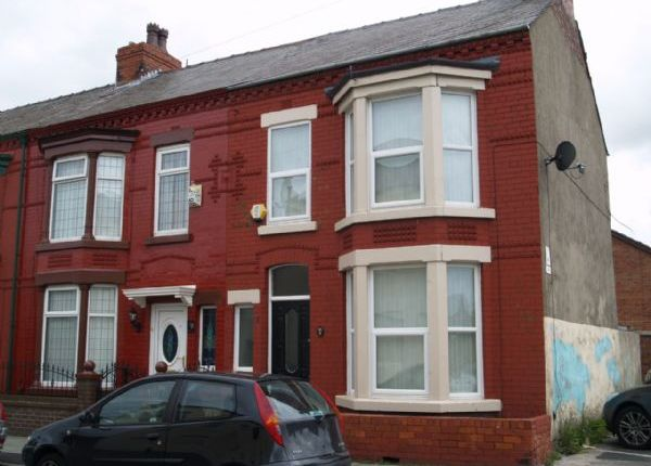 Thumbnail End terrace house to rent in Spenser Street, Bootle