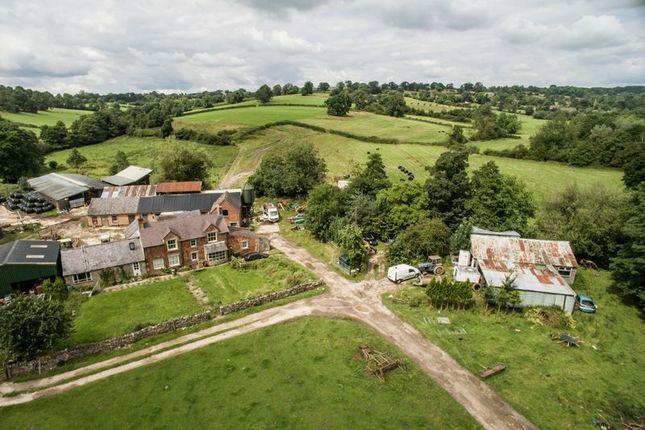 Thumbnail Farmhouse for sale in Alders Farm, Fenny Bentley, Ashbourne