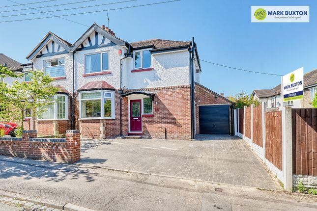 Thumbnail Semi-detached house for sale in Stuart Avenue, Trentham, Stoke-On-Trent