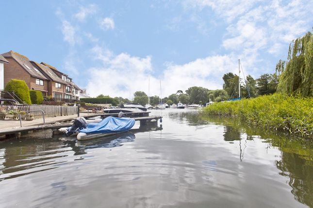 Thumbnail Semi-detached house for sale in The Moorings, Willow Way, Christchurch, Dorset