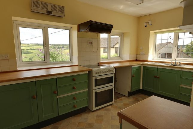 Kitchen of English Bicknor, Coleford, Gloucestershire. GL16