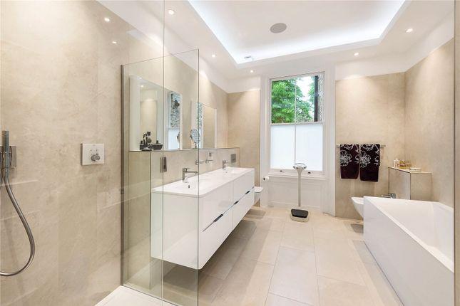 Master Bathroom of Ifield Road, Chelsea, London SW10