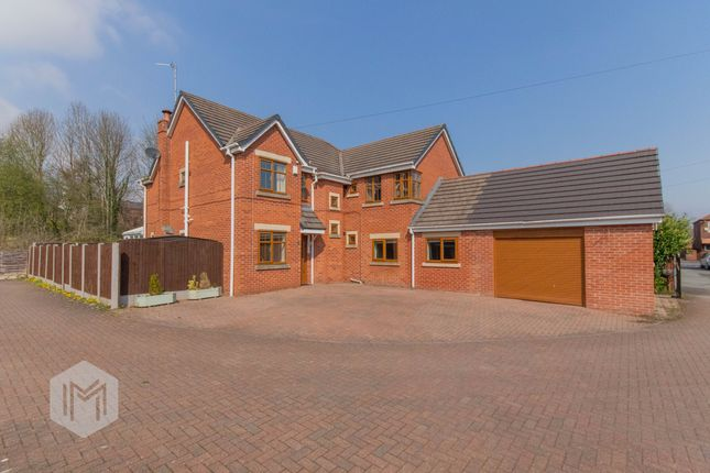 Thumbnail Detached house for sale in Crompton Fold, Bury, Lancashire