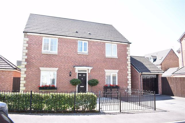 Thumbnail Detached house for sale in Glan Yr Afon, Gorseinon, Swansea