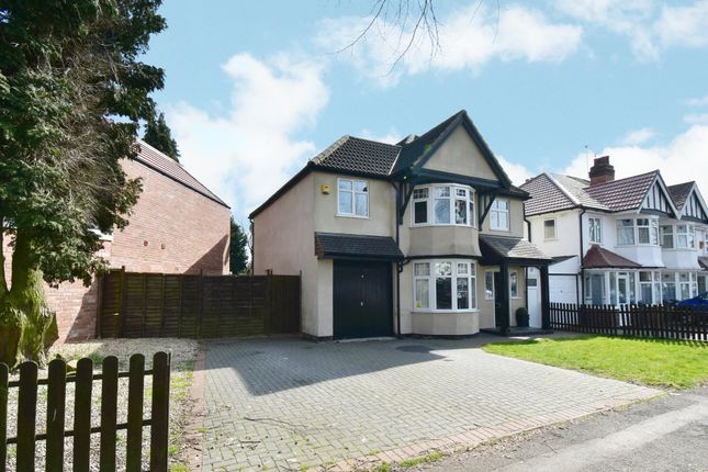 Thumbnail Detached house for sale in Littleover Avenue, Hall Green, Birmingham