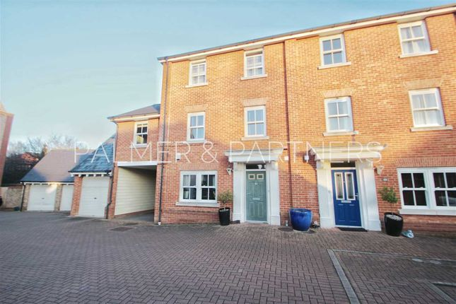 Thumbnail Town house for sale in Rouse Way, Colchester