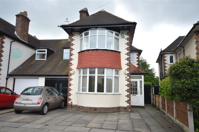 4 bed semi-detached house for sale in Stand Park Road, Childwall, Liverpool
