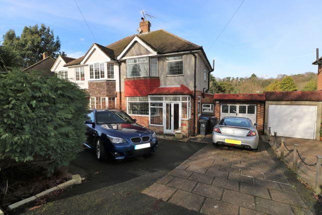 Thumbnail Semi-detached house for sale in Chestnut Grove, South Croydon