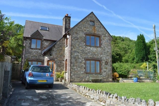 Thumbnail Detached house to rent in Llanrhidian, Swansea