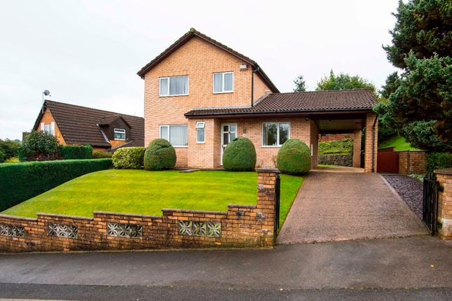 Thumbnail Detached house for sale in Heol Y Glyn, Milbrook, Treharris