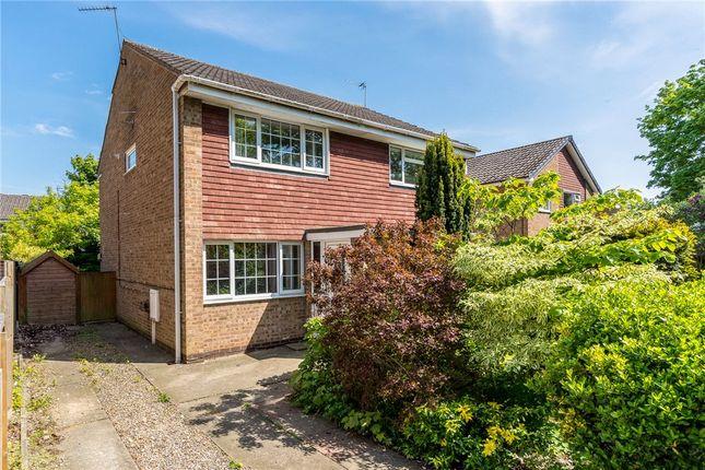 Thumbnail Semi-detached house for sale in Cotterdale Close, Knaresborough, North Yorkshire