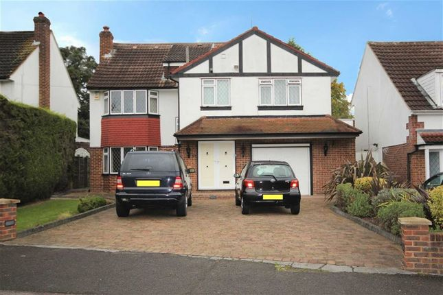 Thumbnail Detached house for sale in Grange Road, Elstree, Hertfordshire
