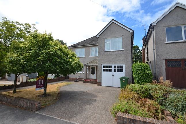 Thumbnail Detached house to rent in Black Oak Road, Cardiff