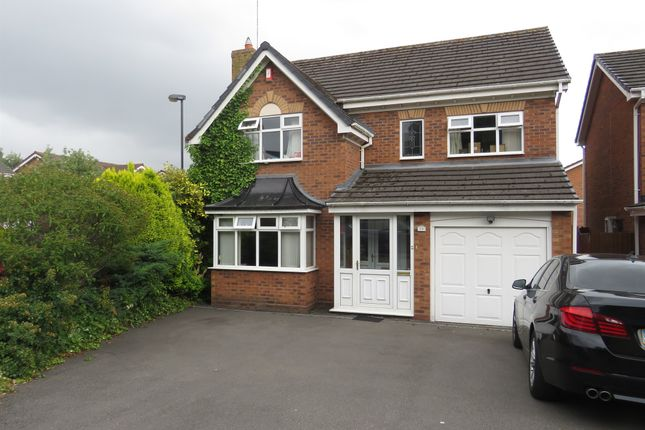 Thumbnail Detached house for sale in St. Catharines Close, Walsall
