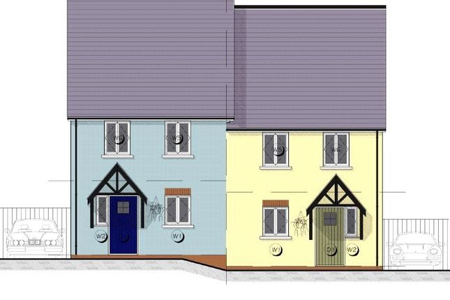 Thumbnail End terrace house for sale in 6 Maes Yr Orsaf (The Cilgerran), Plot 6, Station Road, Narberth