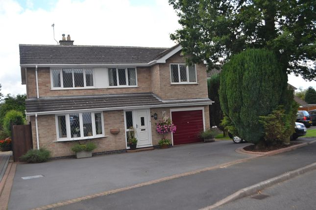 Thumbnail Detached house for sale in Willow Green, Coalville, Leicestershire
