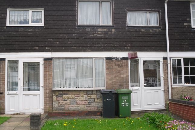 Thumbnail Terraced house to rent in Aspen Drive, Chelmsley Wood, Birmingham