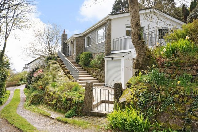 Thumbnail Detached bungalow for sale in Lamorna, Penzance