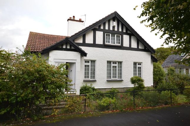 Thumbnail Detached house for sale in West Cliff Road, Dawlish, Devon