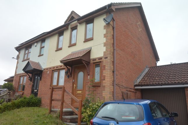 Thumbnail End terrace house to rent in Mallard Close, The Willows