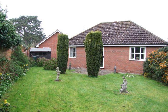 Thumbnail Detached bungalow for sale in Henley Close, Saxmundham
