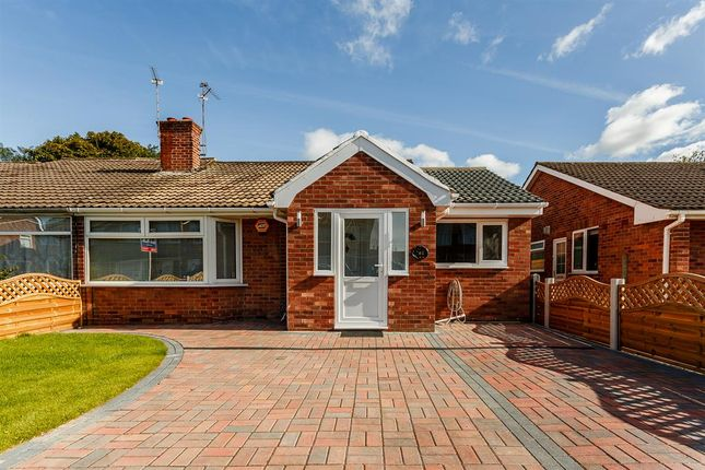 Thumbnail Bungalow for sale in Eastfield Crescent, York