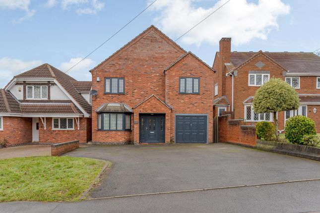 Thumbnail Detached house for sale in Hill Lane, Bassetts Pole, Sutton Coldfield