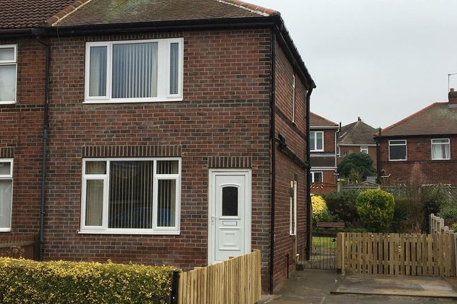 Thumbnail Semi-detached house to rent in Nevison Avenue, Pontefract