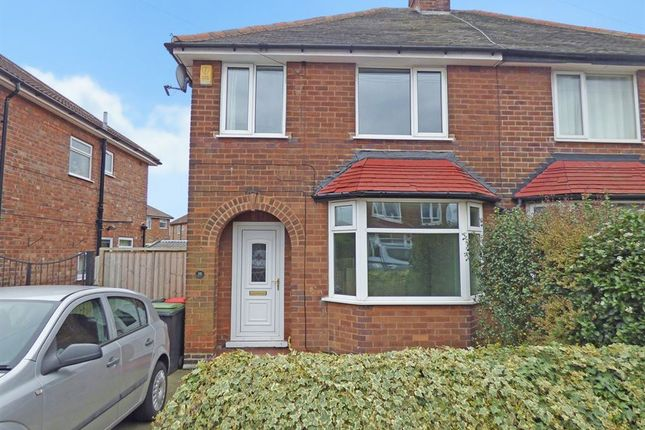Thumbnail Semi-detached house to rent in Ashfield Avenue, Beeston Rylands