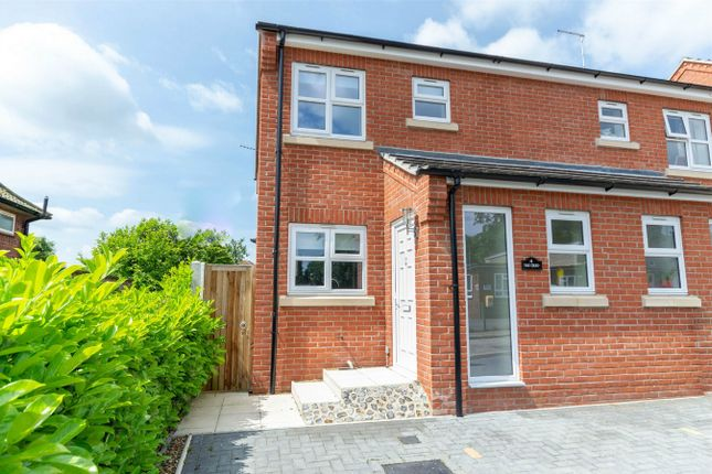 Thumbnail Semi-detached house for sale in Barons Close, Fakenham