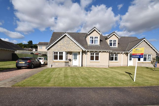 Thumbnail Semi-detached house for sale in Ballumbie Gardens, Dundee